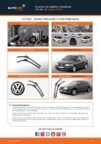 Hvordan man udskifter viskerblade i for på Volkswagen Golf III