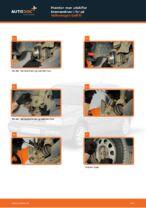 Hvordan man udskifter bremseskiver i for på Volkswagen Golf III