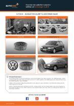 Hvordan man udskifter motorens luftfilter på Volkswagen Golf III