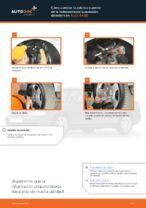 Cómo cambiar la palanca superior de la independiente suspensión delantera en AUDI A4 В5