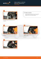 Cómo cambiar la rótula de dirección transversal en AUDI A4 В5