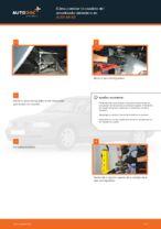 Cómo cambiar la cazoleta del amortizador delantero en AUDI A4 В5