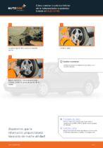 Cómo cambiar la palanca inferior de la independiente suspensión trasera en AUDI A4 В5