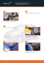 Instrucciones gratuitas en línea sobre cómo renovar Muelle de chasis CITROËN C3 I (FC_)