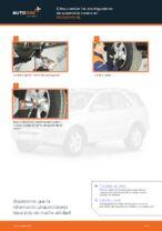 Cambio Amortiguador delanteros y traseros KIA bricolaje - manual pdf en línea