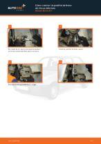 Cambio Pastilla de freno delanteras y traseras NISSAN MICRA: tutorial en línea