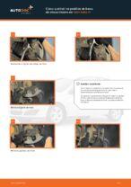 Cómo cambiar Silentblock de motor delantero y trasero OPEL ASTRA H (L48) - manual en línea