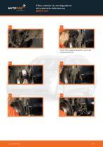 Cambio Amortiguador delanteros y traseros BMW bricolaje - manual pdf en línea