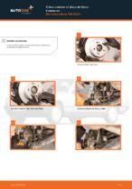 Manual online sobre el cambio de Kit de frenos de disco por su cuenta en MERCEDES-BENZ 190 (W201)