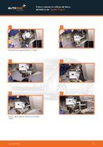 PDF manual de reemplazo: Pinza de freno TOYOTA PRIUS Fastback (NHW20_) delantera y trasera