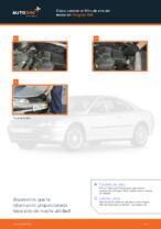 Cuándo cambiar Filtro de aire motor PEUGEOT 406 Break (8E/F): manual pdf