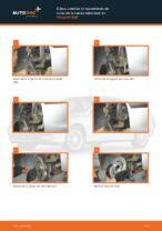 Instrucciones gratuitas en línea sobre cómo renovar Juego de cojinete de rueda PEUGEOT 406 Break (8E/F)