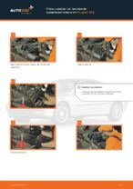Cambio Muelle de chasis traseras izquierda derecha PEUGEOT 406: tutorial en línea