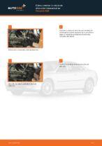 Cambio Rótula barra de dirección PEUGEOT bricolaje - manual pdf en línea