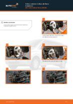 Cambiar Discos de Freno MERCEDES-BENZ VIANO: manual de taller