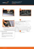 Cómo cambiar la cazoleta del amortizador delantero en Audi A4 В7
