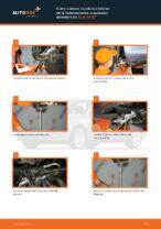 Cómo cambiar la palanca inferior de la independiente suspensión delantera en Audi A4 В7