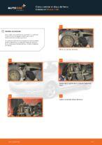 PDF manual de reemplazo: Disco de freno MAZDA 3 (BK) traseras y delanteras