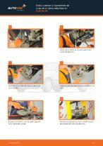 Cómo cambiar Pastilla de freno delanteras y traseras AUDI 80 (8C, B4) - manual en línea