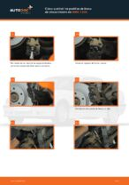 PDF manual de reemplazo: Pastilla de freno BMW 3 Compact (E36) delanteras y traseras