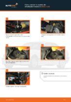 Cómo cambiar la cazoleta del amortizador trasero en BMW 3 E36