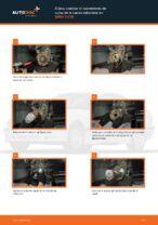 Cambio Juego de cojinete de rueda delantera izquierda derecha BMW bricolaje - manual pdf en línea