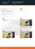 Cómo cambiar los amortiguadores de suspensión delantera en Volkswagen Golf III