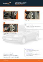 Cómo cambiar la rótula de dirección transversal en Volkswagen Golf III