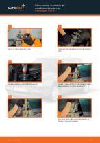 Cómo cambiar la cazoleta del amortizador delantero en Volkswagen Golf III