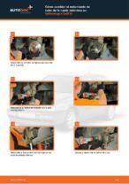 Cómo cambiar el rodamiento de cubo de la rueda delantera en Volkswagen Golf III