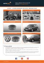 Cómo cambiar el filtro de aire del motor en Volkswagen Golf III