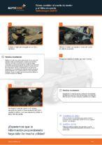 Cómo cambiar el aceite de motor y el filtro de aceite Volkswagen Golf III