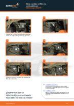 Cómo cambiar el filtro de combustible en Volkswagen Golf III