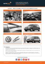 Come cambiare è regolare Spazzola tergi VW LUPO: pdf tutorial
