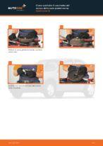 Come sostituire il cuscinetto del mozzo della ruota posteriore su Opel Corsa B