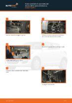 Cambio Cuscinetto mozzo ruota istruzioni pdf per SUZUKI SWIFT