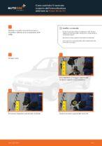 PDF manuale di sostituzione: Supporto ammortizzatore NISSAN MICRA II (K11) posteriore e anteriore