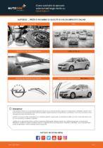Sostituzione Tergilunotto posteriore e anteriore OPEL ASTRA: tutorial online