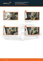 Come sostituire le pastiglie dei freni a disco posteriori Mercedes-Benz E-Class W210
