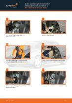 MERCEDES-BENZ Classe E Ammortizzatori sostituzione: tutorial PDF passo-passo