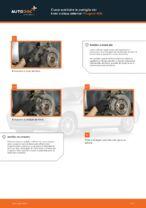 Sostituzione Kit pastiglie freno a disco PEUGEOT 406: pdf gratuito