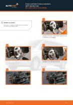 Cambio Set dischi freni posteriore e anteriore MERCEDES-BENZ da soli - manuale online pdf