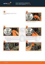 Come sostituire le pastiglie dei freni a disco posteriori Audi A4 В7