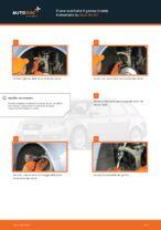 Come sostituire il gambo tirante trasversale su Audi A4 В7