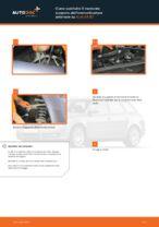 Come sostituire il montante supporto dell'ammortizzatore anteriore su Audi A4 В7