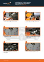 Come sostituire il braccio inferiore della sospensione indipendente anteriore su Audi A4 В7
