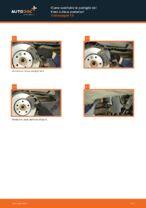 Come sostituire le pastiglie dei freni a disco posteriori Volkswagen T5