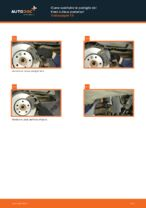 VW TRANSPORTER V Platform/Chassis (7JD, 7JE, 7JL, 7JY, 7JZ, 7FD) Pastiglie Freno sostituzione: tutorial PDF passo-passo