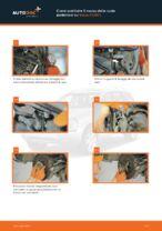 VOLVO XC90 I Supporto Motore sostituzione: tutorial PDF passo-passo