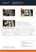 Come sostituire la barra/asta stabilizzatrice della sospensione anteriore su BMW 3 E36